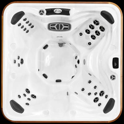 Top view of the Arctic Spas Yukon signature hot tub